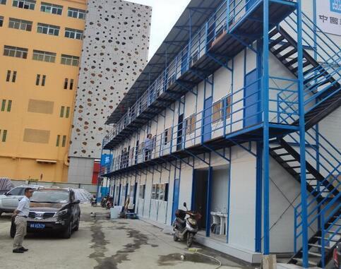 活动房案例——同德广场a7地块工程